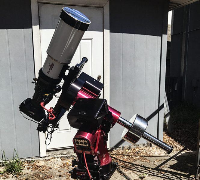 Solar Telescope setup