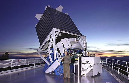 Sloan Digital Sky Survey telescope