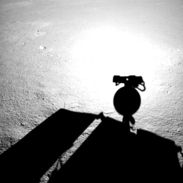 Yutu 2 shadow