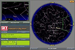 Interactive Sky Chart