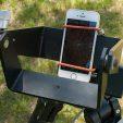 Smartphone polar alignment