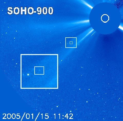 Soho Spacecraft Comet Sighting - Pics about space