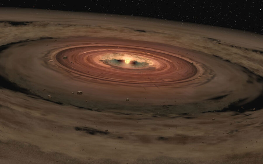 Planet-forming disk