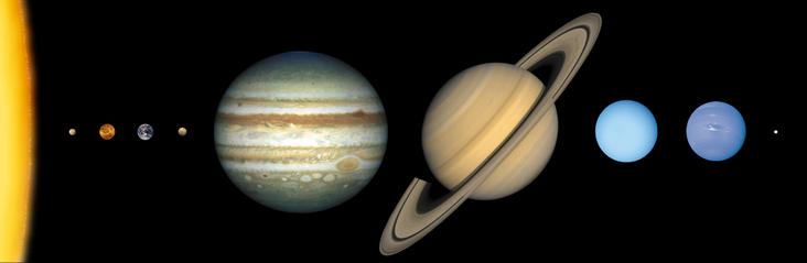 biggest to smallest planets in solar system - photo #36