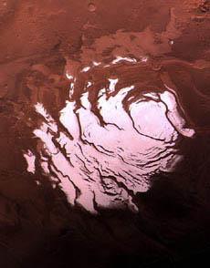 Mars's south pole