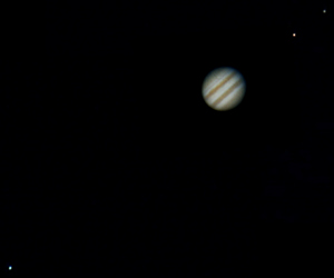 Jupiter with 3 Moons