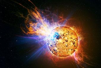 Gökbilimciler Güneşimizde Olanlardan 10 Milyar Kez Daha Parlak Bir Parlama Gözledi…