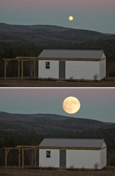 """Real and """"super"""" Moons"""