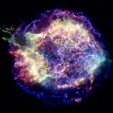 Chandra X-ray photograph of young supernova remnant Cassiopeia A. NASA/CXC/MIT/UMass Amherst/M.D.Stage et al.