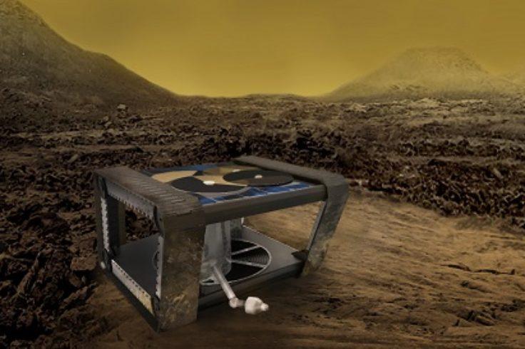 Venus clockwork rover