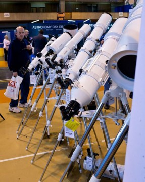 Telescopes at NEAF 2016