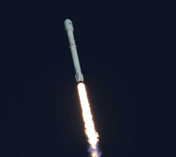 TESS launch aboard SpaceX Falcon 9