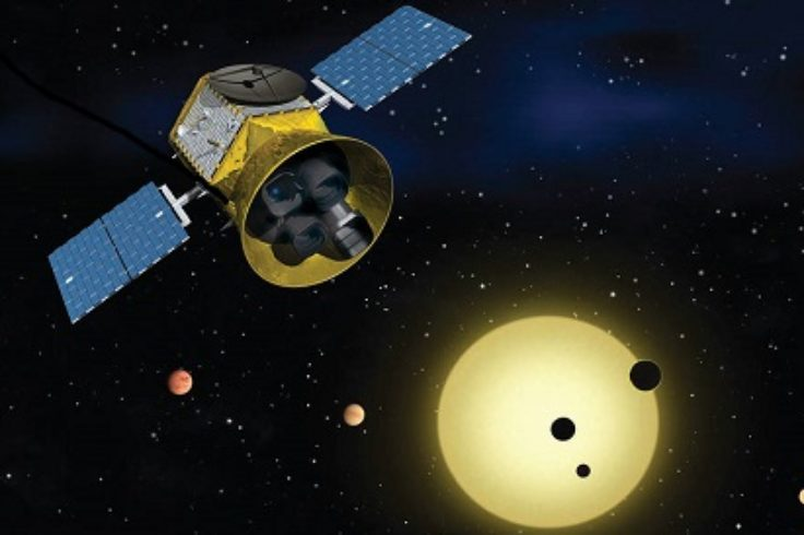 Exoplanet-hunting TESS spacecraft