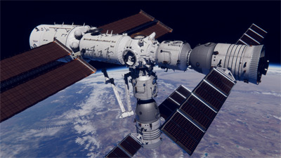 China's space station (art)