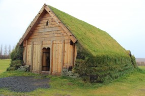 A recreation of a traditional turf-roofed buildingS&T: Peter Tyson