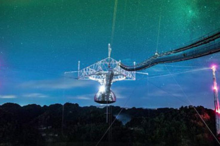 Arecibo Observatory radar system