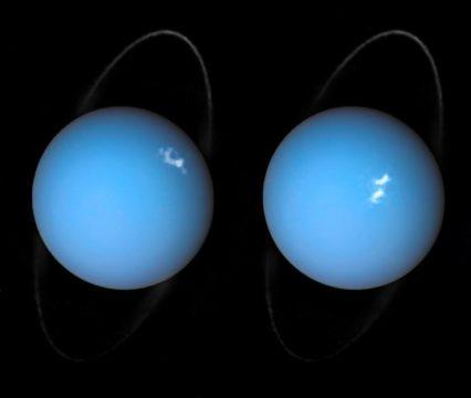Hubble aurora