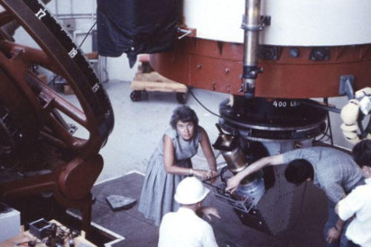 Vera Rubin in 1965