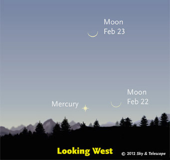 Just 30 minutes after sunset. Bring binoculars!