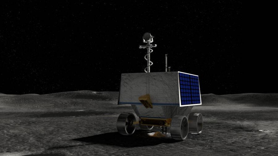 VIPER moon rover