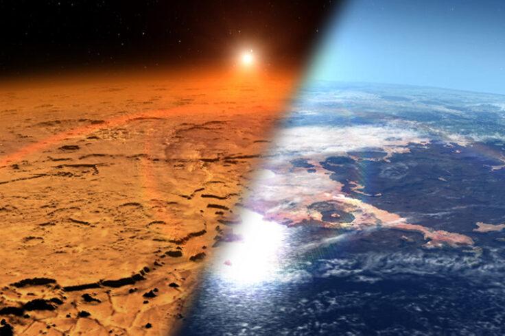 Mars: dry vs. wet