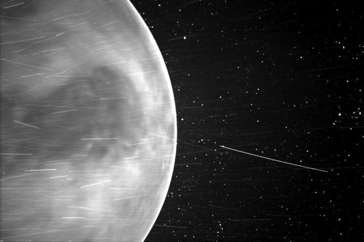 Venus, imaged by Parker Solar Probe