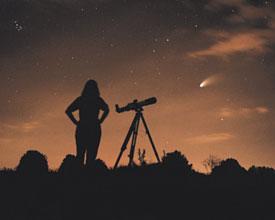 Viewing Comet Hale-Bopp.